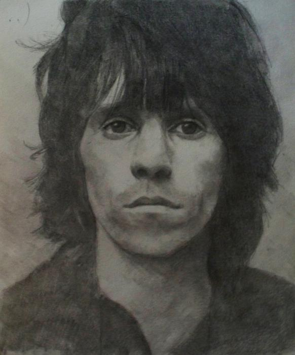 Keith Richards by sketch1961